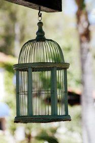 Gabbia per uccelli artiginale